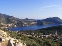 De Baai van Kalkan, Turkije Royalty-vrije Stock Foto