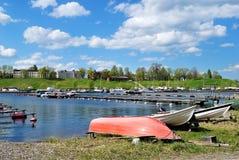De baai van Lappeenranta stock afbeelding
