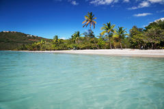 De Baai van Magens, St. Thomas stock fotografie