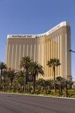 De Baai van Mandalay zoals die van de strook in Las Vegas, NV op April wordt bekeken Royalty-vrije Stock Foto