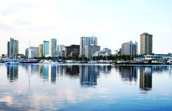 De baai van Manilla Royalty-vrije Stock Foto's