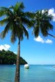 De baai van Marigot Royalty-vrije Stock Foto's