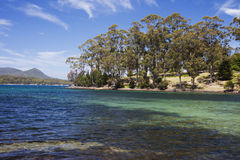 De Baai van Mason Cove en Carnarvon- royalty-vrije stock foto's