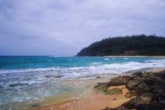 De Baai van Moloa'a, Kauai stock foto's
