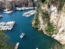 De baai van Monaco Stock Afbeelding