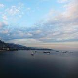De baai van Monaco Stock Fotografie