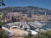 De baai van Monaco royalty-vrije stock foto