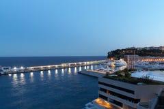 De Baai van Monte Carlo Royalty-vrije Stock Afbeelding