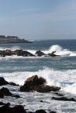 De Baai van Monterey Royalty-vrije Stock Foto's