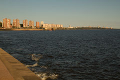 De Baai van Montevideo Royalty-vrije Stock Foto's