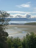 De Baai van Mulrany, Mayo, Ierland Royalty-vrije Stock Foto's