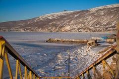 De baai van Nagaev Royalty-vrije Stock Foto