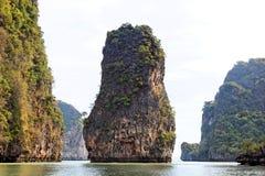 De Baai van Nga van Phang, Thailand Stock Afbeeldingen