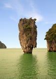 De Baai van Nga van Phang, in Thailand Stock Foto