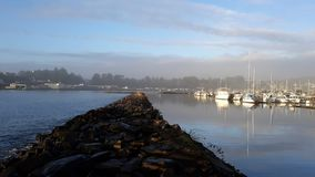 De Baai van Nieuwpoort stock fotografie