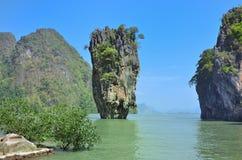 De Baai van Phangnga Stock Foto's