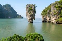 De Baai van Phangnga, James Bond Island Royalty-vrije Stock Fotografie