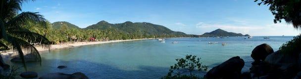De Baai van Sairee, Koh Tao stock fotografie