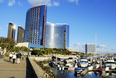 De Baai van San Diego Stock Foto
