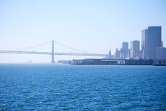 De baai van San Francisco Stock Foto's