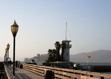 De Baai van San Francisco stock fotografie