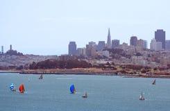 De baai van San Francisco Royalty-vrije Stock Afbeeldingen