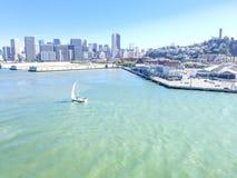 De Baai van San Francisco Stock Afbeelding