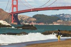 De Baai van San Francisco. stock fotografie
