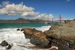 De Baai van San Francisco. royalty-vrije stock afbeelding