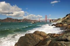 De Baai van San Francisco. stock afbeeldingen