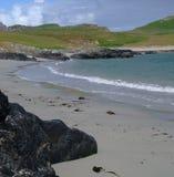 De Baai van Sanaigmore, Eiland van Islay, Schotland stock afbeelding