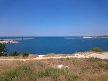 De baai van Sebastopol royalty-vrije stock fotografie