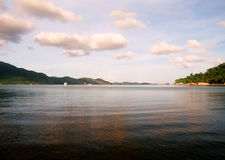 De baai van Siam Royalty-vrije Stock Foto's