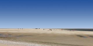 De baai van Somme, Frankrijk Royalty-vrije Stock Afbeelding
