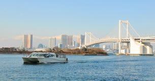 De baai van Tokyo Stock Foto