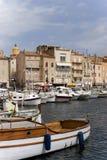 De baai van Tropez van Sait stock afbeelding