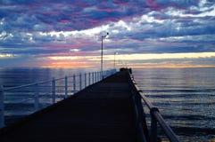 De Baai van Tumby van de ochtendzonsopgang Stock Afbeelding