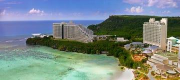 De Baai van Tumon in Guam stock fotografie