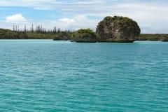 De baai van Upi Stock Afbeeldingen