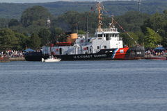 DE BAAI VAN USCGC MORRO Royalty-vrije Stock Foto's
