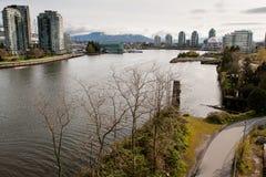 De baai van Vancouver stock foto