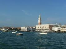 De baai van Venetië in Italië stock foto