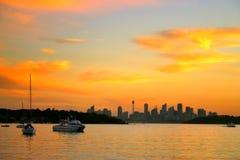 De Baai van Watsons, NSW, Australië Stock Foto's