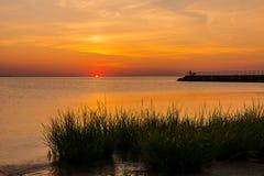 De Baai van zonsopgangraritan Royalty-vrije Stock Afbeelding