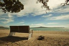 De baaien van Auckland in Nieuw Zeeland Stock Afbeeldingen