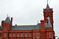de Baaigebied van Cardiff in Cardiff, Wales, het UK royalty-vrije stock foto