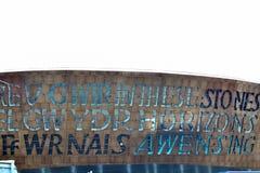 de Baaigebied van Cardiff in Cardiff, Wales, het UK royalty-vrije stock fotografie