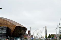 de Baaigebied van Cardiff in Cardiff, Wales, het UK royalty-vrije stock afbeelding
