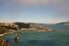 De baaigebied van San Francisco stock foto's