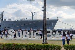 26,2017 de Baaihaven van februari Subic in Subic Royalty-vrije Stock Afbeelding